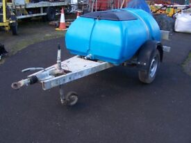Water Bowser trailer 1000 litre