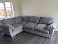 Grey corner couch - great condition. £300