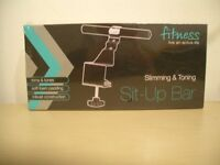 Stomach sit up bar, stomach exerciser, brand new in packaging!