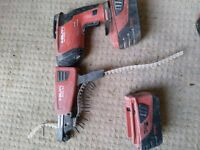 Hilti SD5000 with SMD57 Collated Head and Two Batteries