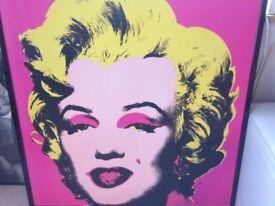 Marilyn Monroe Lithograph