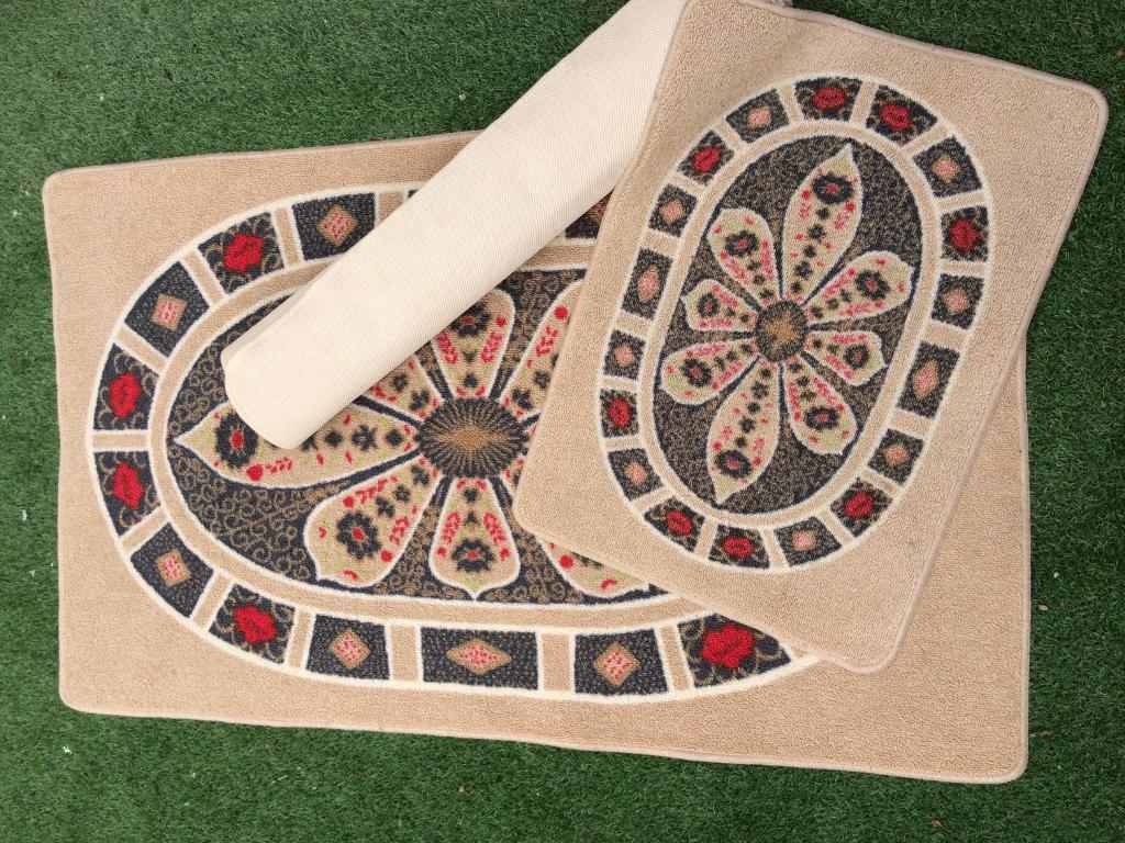 3no Royal Crown Derby Imari Pattern Washable Rugs