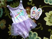 My Little Pony dance outfit with matching shoes