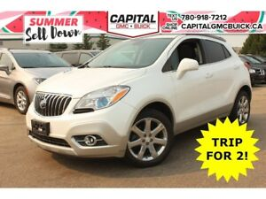 2014 Buick Encore LEATHER AWD HEATED STEERING & SEATS REMOTE STA