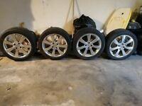 17 inch wheels - 4 x 108 - 225/45/17