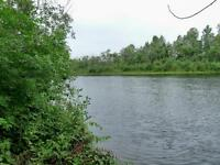YOUR OWN SEMI-PRIVATE LAKE, ISLAND & STURGEON RIVER WATERFRONT!
