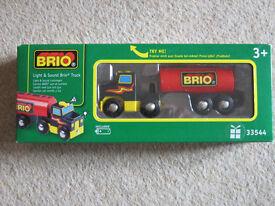 BRIO LIGHT AND SOUND TRUCK 33544 AGE 3+ BRAND NEW