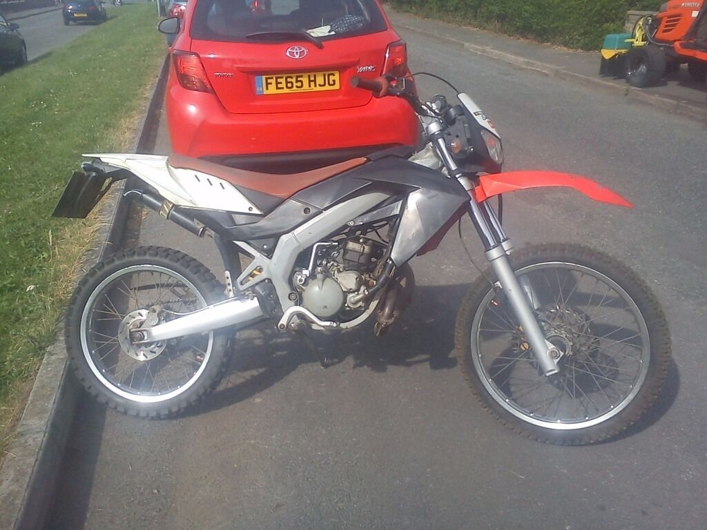 Aprilia Rx50 Enduro Supermoto 12months Mot Low Mileage 2009 In New Rx 50 Wiring