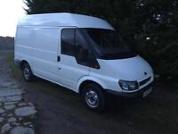 Ford transit 2002 MWB HIGH ROOF 5 months PSV