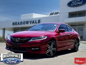 2016 Honda Accord Coupe TOURING,LEATHER,NAVIGATION,SUNROOF