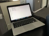 13 Inch MacBook Pro Retina 16GB ram