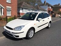 Ford Focus diesel, manual, white, MOT 12/18,cheap family diesel!