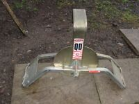 Wheel Clamp for Caravan or Horsebox