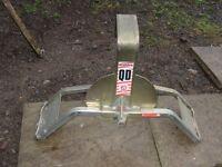 Wheel Clamp for Caravan or Horsebox
