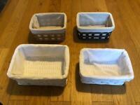 4 elegant boxes storage