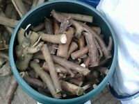 Seasoned Small logs/fire wood for sale. Bulk buy. Collection only.