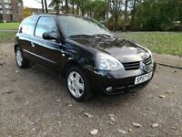 Renault Clio Campus SPORT 1.1 16v...Black...2007..LONG MOT 09.2017..Full Service..Cheap Insurance...