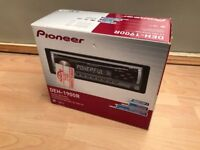 Pioneer DEH 1900R 50W CD Tuner & TS-G1009 DUAL CONE 10cm Speakers Combo NEW