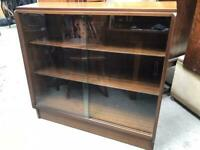 Vintage glazed bookcase FREE DELIVERY PLYMOUTH AREA