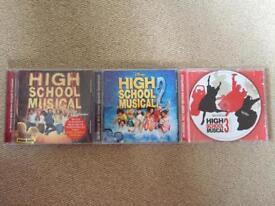 High School Musical CDs