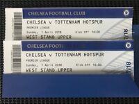 Chelsea--Spurs excellent seats