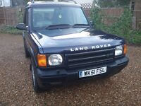 2002 / 51 LANDROVER DISCOVERY SERIES 2 , 2.5 TD5