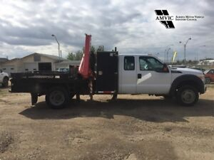 2011 Ford Super Duty F-550 WITH FASSI 65 PICKER