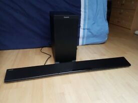 Panasonic Sound Bar with Wireless Subwoofer