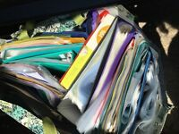 Mixed lever arch and other A4 folders and plastic wallets. FREE to anyone willing to collect.