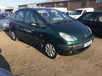 CITROEN PICASSO SOLD AS SEEN SPARES REOAIR DRIVEAWAYGOOD DRIVER CAME IN PX TODAY ANYTRIAL NEW TYRES