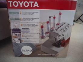 Toyota SLR4D Overlocker ( New Condition)