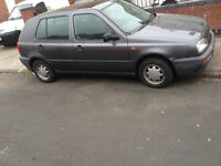 Automatic Golf Mk3 Classic Insurance