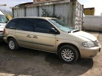 Chrysler voyager repairs or spares