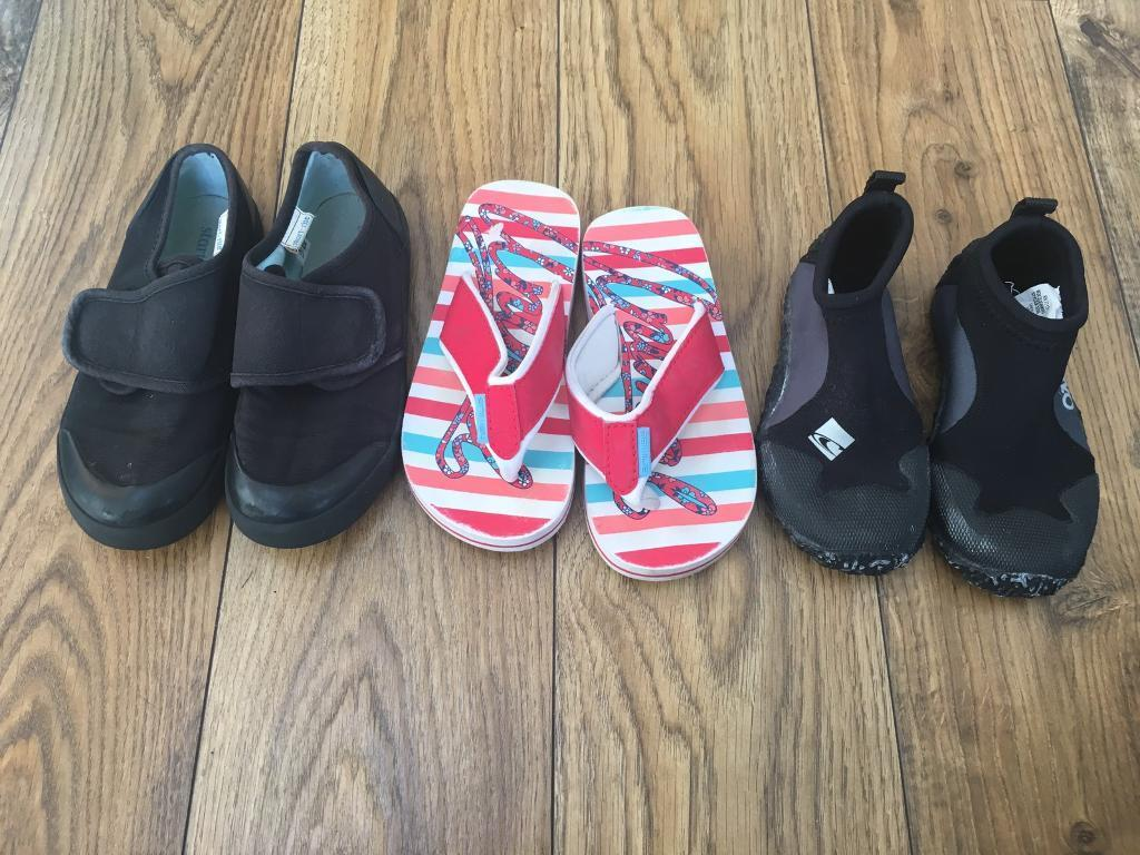 Bundle of girls shoes size 11 12in Bournemouth, DorsetGumtree - Bundle of girls shoes size 11 12In good used condition.ONeill used 1 time