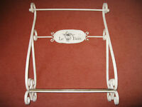 TOWEL RAIL ----------- (Shabby Chique)------- with Shelf --------- £7