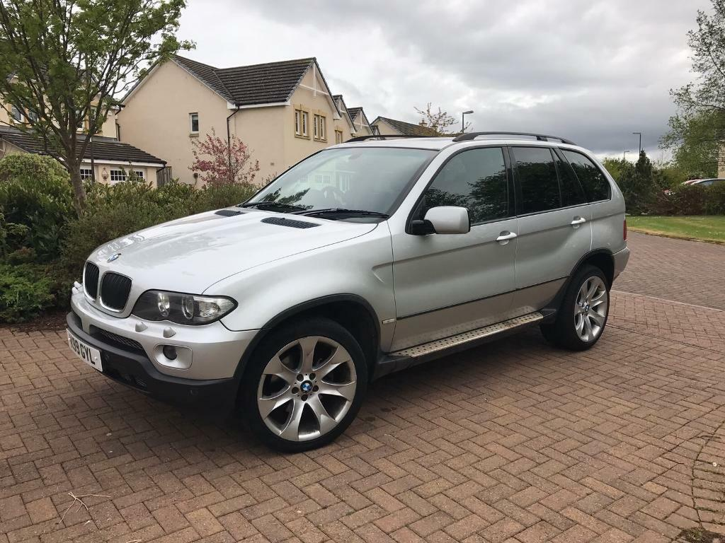 bmw x5 silver sport 5dr auto in gorebridge midlothian gumtree. Black Bedroom Furniture Sets. Home Design Ideas