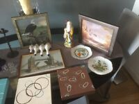 """Car boot lot, """"bargain"""" must go pictures, ornaments, canvases, & wall plates"""