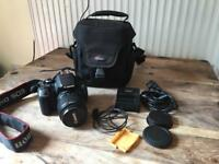 Canon 650D with 18-55mm lens