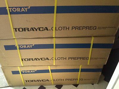 Prepreg Carbon Fiber Cloth Fabric 6oz 38 40.yrd.