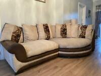 4 seater sofa with swivel chair!!