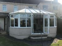 Large conservatory - 5700 x 4300mm
