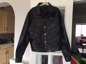 Versace black jacket L/M size