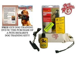 PETE-RICKARD-NEW-PHEASANT-SCENT-PUPPY-HUNTING-TRAINING-KIT-DA611-W-FREE-DVD