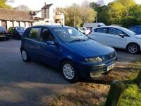FIAT punto 1.2 16v 5 door new mot