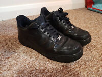 Nike Airforce 1 All black Sz 9
