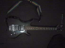 Swift black electric guitar