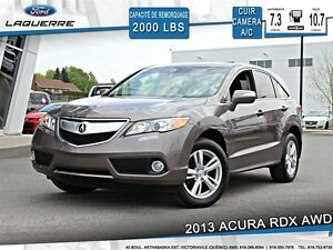 2013 Acura RDX **AWD*CUIR*CAMERA*CRUISE *A/C 2 ZONES*PUSH START*