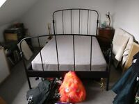 Free double ikea bed frame and mattress walthamstow area pick up only
