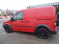 Ford TRANSIT CONNECT L200 TD SWB,tidy work van,side loading door,rear barn doors,tow bar fitted