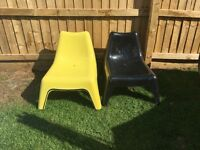 Ikea garden chairs x4